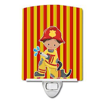 Carolines Treasures BB6995CNL Fireman Boy Keramische Nachtlicht