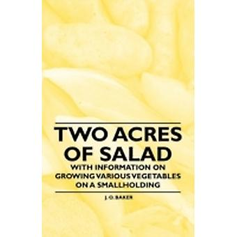 Two Acres of Salad  With Information on Growing Various Vegetables on a Smallholding by Baker & J. O.