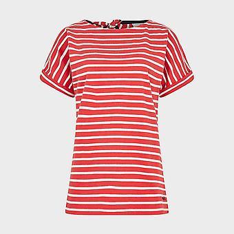 Nieuwe Weird Fish Women's Esha Short Sleeve T-shirt Rood