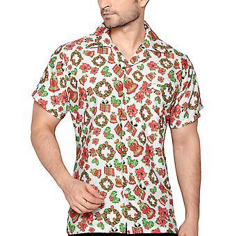 Club cubana men's regular fit classic short sleeve casual shirt ccx12