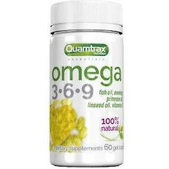 Quamtrax Nutrition Omega 3.6.9 500 mg 60 Capsules
