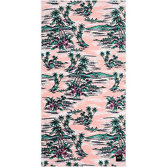 Slowtide Outrigger Beach Towel in Pink