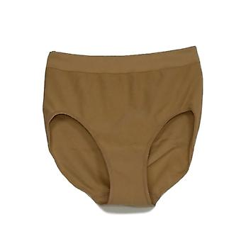 Unidentified Brand Women's Elastic Waist Support Panties Biege