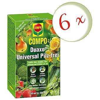 Sparset: 6 x COMPO Duaxo® Universal Mushroom-Free, 150 ml