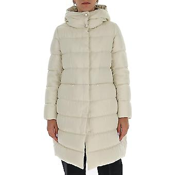 Herno Pi058dr123481010 Women's White Nylon Down Jacket