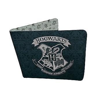 Harry Potter Hogwarts Crest Vinyl Bi-Fold Wallet