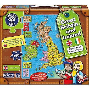 Orchard Toys Großbritannien & Irland Puzzle & Poster