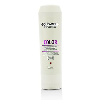 Dual senses color brilliance conditioner (luminosity for fine to normal hair) 215846 200ml/6.7oz