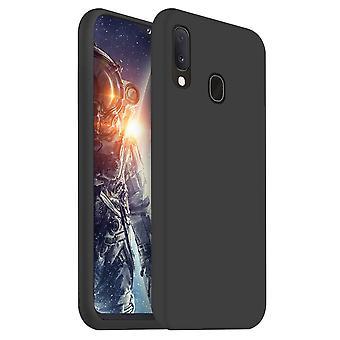 Samsung A20E Silikon Case Schwarz - Coolskin Slim