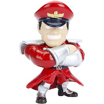 "Street Fighter M Bison 4"" Metalen"
