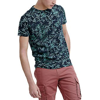 Funky Buddha Men's T-Shirt In Allover Print