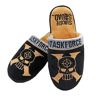 Official Suicide Squad Taskforce X Slippers (UK 8-10 & US 9-11)