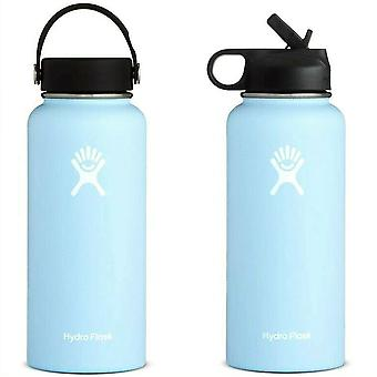 Flask Water Bottle Stainless Steel Hydrating Flask - Hydro Vacuum Insulated
