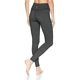 Core 10 Women's Standard Spectrum High Waist Yoga, Black Stripe, Size Small