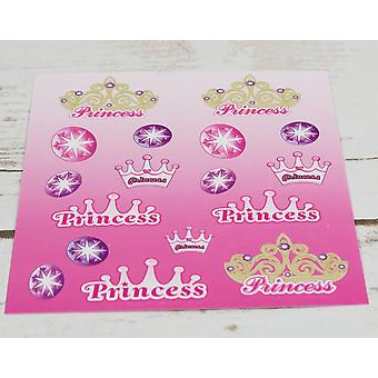 Single Princess Sticker Sheet for Kids Party Bags