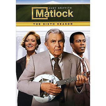 Matlock - Matlock: Sixth Season [DVD] USA import