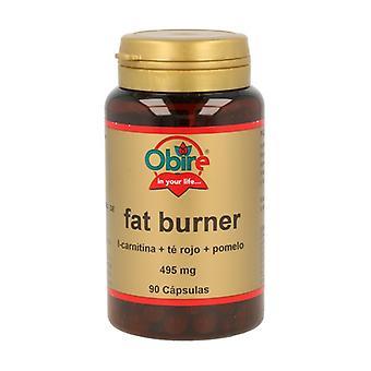 Fat Burners (L-Carnitine, Red Tea and Grapefruit) 90 capsules
