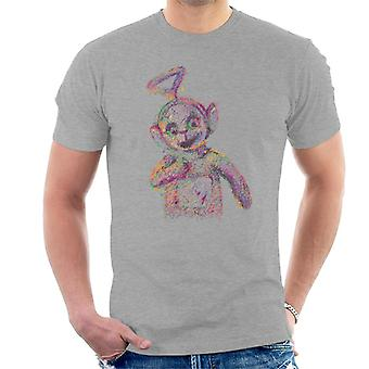 Teletubbies Twinky Winky Fluidline Design Men's T-Shirt