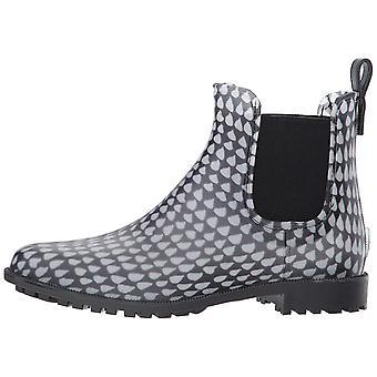 Joules Women's zapatos Y_ROCKINGHAM goma almendra toe tobillo botas de lluvia