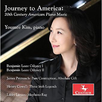 Cowell / Larsen / Lees / Kim - Journey to America: 20th Century American [CD] USA import