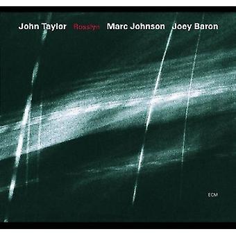 John Taylor - Rosslyn [CD] USA import