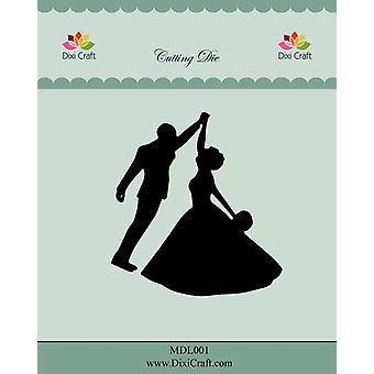 Dixi Craft Wedding Couple Metal Cutting Die