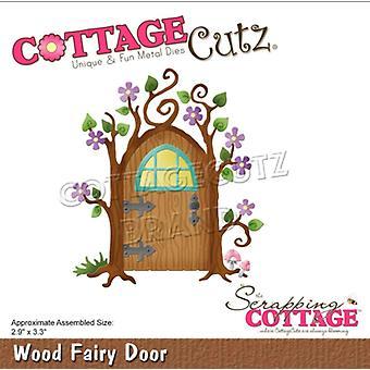 Scrapping Cottage Wood Fairy Door