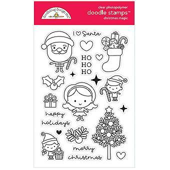 Doodlebug Design Christmas Magic Doodle Timbres