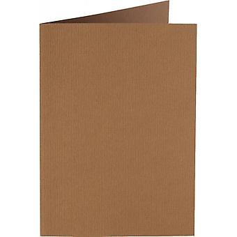 Papicolor 6X Double Card A6 105x148 mm Nut-Brown