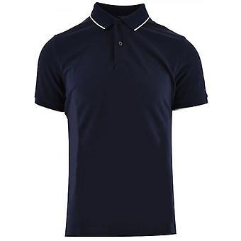 GANT Navy Pique Polo Shirt