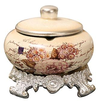 Ceramica rotonda Ashtray 15.5CM