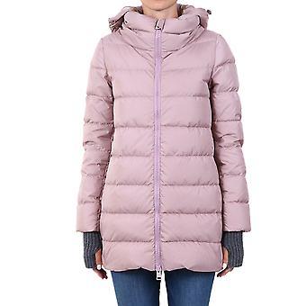 Herno Pi0660d120044645 Dames's Roze Nylon Down Jacket