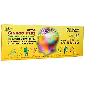 Prince of Peace, Ultra Ginkgo Plus, Endurance Formula, 30 Bottles x 0.34 fl oz (