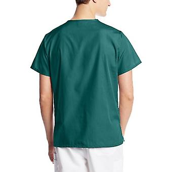 Cherokee Originals Unisex V-Neck Scrubs Shirt, Hunter, Medium