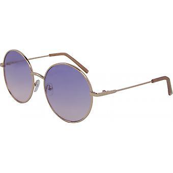 نظارات شمسية للجنسين حول كات. 3 ذهبي/بنفسجي (5102-A)