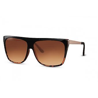 Okulary przeciwsłoneczne Unisex Kat. 3 brązowe (CWI2282)