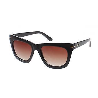 Sonnenbrille Damen  Chic  Wanderer Kat.3 schwarz/braun (AZ-6490)