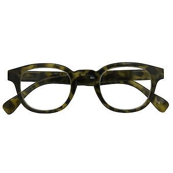 Lesebrille Unisex  Montel   Camouflage grün Stärke +1,50
