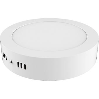 Techtouch inspiré - Intego SM Ecovision - Surface montée Round 12inch 24W Pure White 6400K, 2000lm, White Frame, Inc. Driver