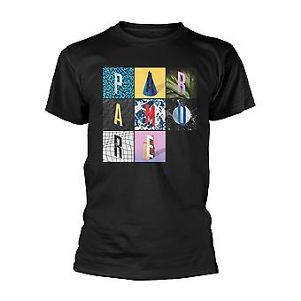Paramore Texture Box Grid Officiële T-Shirt Unisex