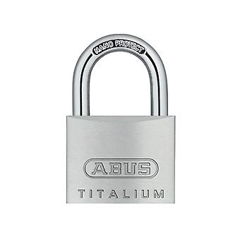 ABUS 64TI/40mm TITALIUM Padlock Twin Pack ABU64TI40TC