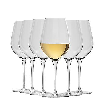Bormioli Rocco Inalto Tre Sensi Medium Wine Glasses Set - 430ml - Pack of 12