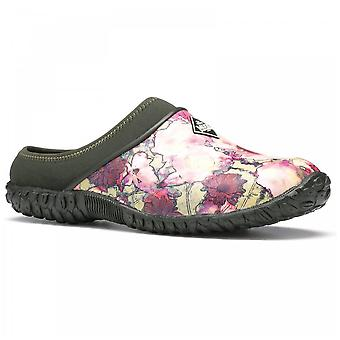 Muck Boots Ladies Muckster Ii Floral Green Slip On Clogs Shoes