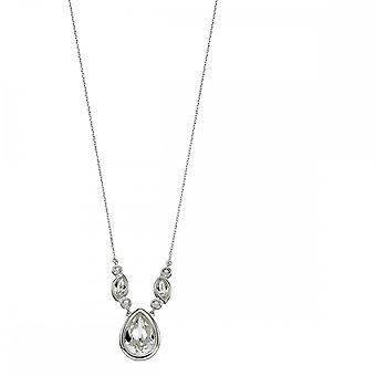 Elements Silver Silver And Crystal Swarovski Bridal Necklace N4292C