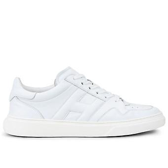 Mænds Sneakers Hogan H365 Hvidt læder