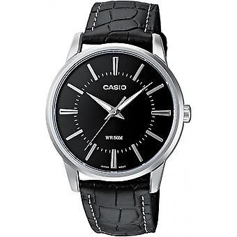 Relógio Masculino Casio Couro Casio Coleção Mtp-1303pl-1avef