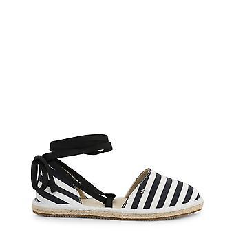 Armani schimb 9450708p48651 femei, sandale din material textil