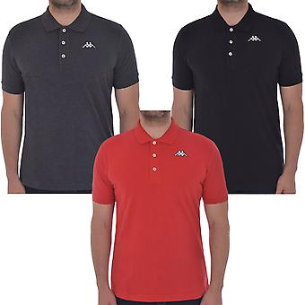 Kappa Mens Sharus Retro Casual Katoen T-shirt Polo Shirt T-top