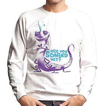 Pixar Monsters Inc Randall Boggs Oletko peloissasi vielä Miehet's Collegepaita