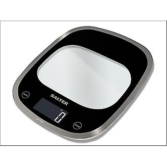 Salter Electrical Kitchen Scale Curve Glass Black 1050BKDR